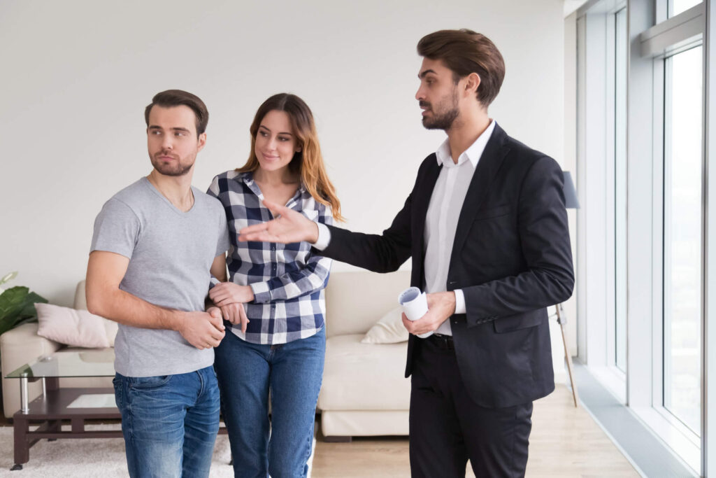 millenial renters in salt lake city with property manager